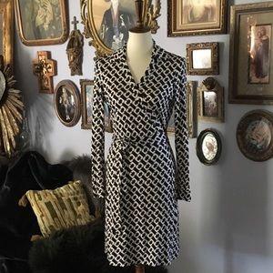 Diane von Furstenberg Silk New Jeanne Wrap Midi 12